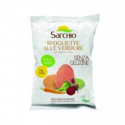 Snack sarat cu legume, fara gluten, BIO ECO 55g - Sarchio