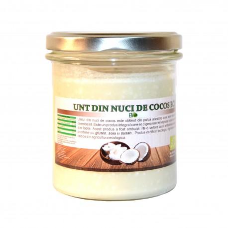 Unt de cocos, eco, bio, ecologic 250 g