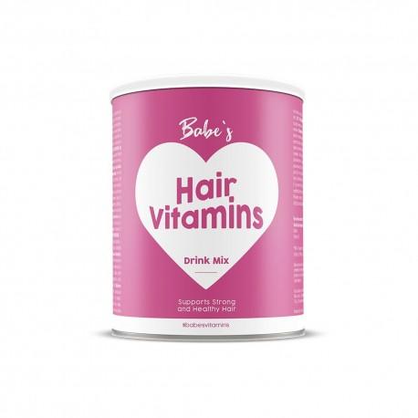 Hair Vitamins - supliment cu biotina pentru un par sanatos, Babe's Vitamins 150g - Deco Italia