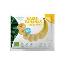 Banane rondele crocante liofilizate uscate fara gluten Bio Eco 10g