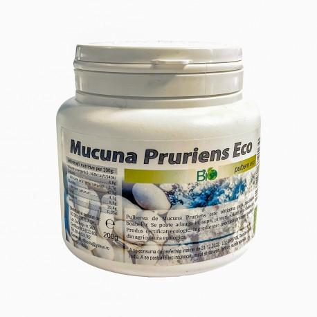 Mucuna Pruriens ECO, pulbere BIO 200 gr. - Deco Italia