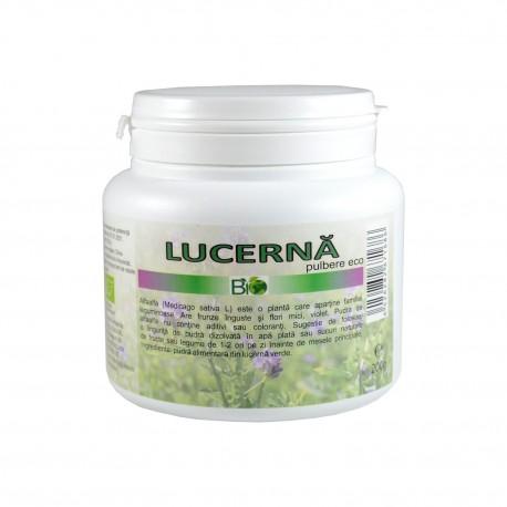 Afaalfa - lucerna pudra, pulbere bio, eco, ecologica 200 g