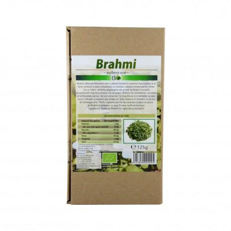 Brahmi pulbere, BIO 125g