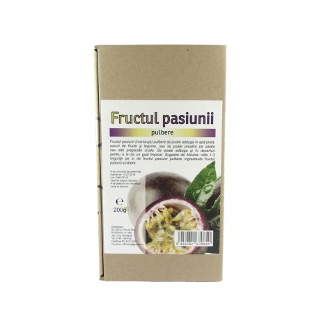 Fructul pasiunii pudra, pulbere 200 g