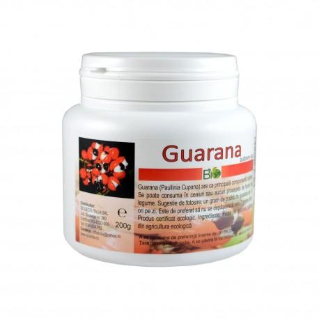 Guarana pudra, pulbere BIO ECO, 200 g