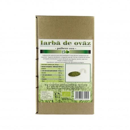 Iarba de ovaz verde BIO, pulbere 125 g - Deco Italia