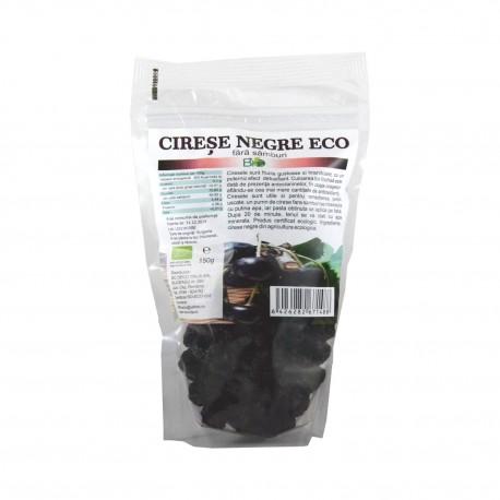 Cirese negre uscate, fara samburi, BIO 150g