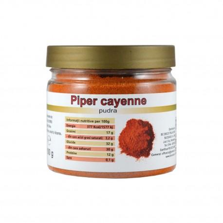 Piper Cayenne pudra, 100g - Deco Italia