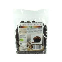 Boabe de cacao intregi crude RAW BIO, 200 g