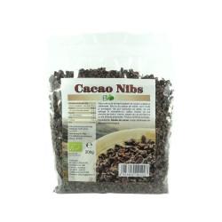 Cacao nibs - miez din boabe de cacao bio, 200 g