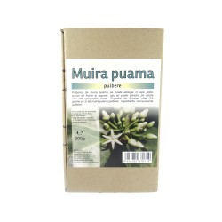Muira Puama, pulbere, pudra, 200g