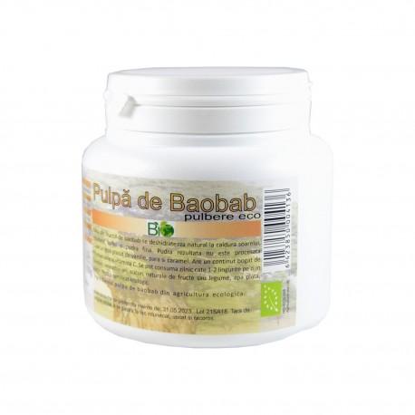 Pulpa de baobab pudra BIO 200 g - Deco Italia