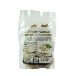 Ghimbir natural bucati, fara adaos de zahar, 150 g