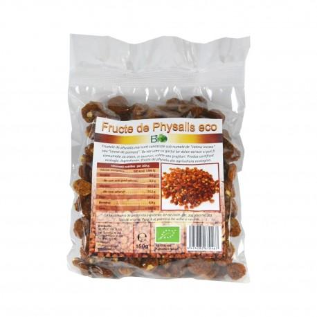 Fructe uscate Physalis, deshidratate, BIO 150 g