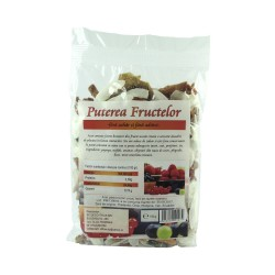 Puterea Fructelor, mix fructe uscate, deshidratate, 150g