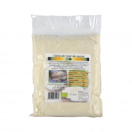 Faina din nuci de cocos bio, eco 500 g