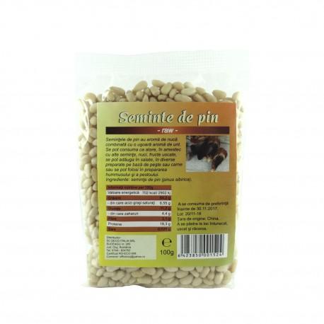 Seminte de pin raw crude 100 g