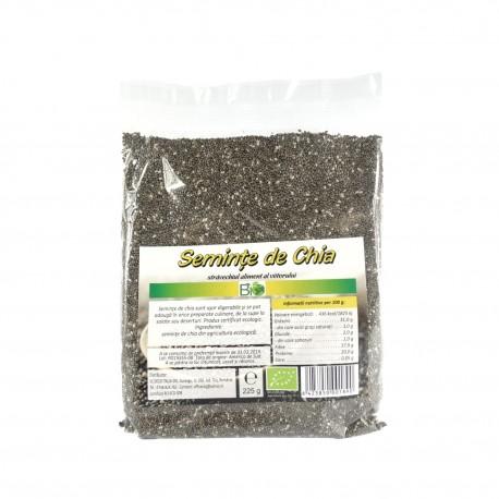 Seminte de chia RAW BIO, 225 g