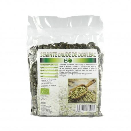 Semințe de dovleac RAW (crude) BIO, 250 g