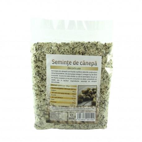 Semințe de canepa decorticate 250 g
