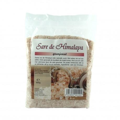 Sare roz de Himalaya grunjoasa 100% naturala, 500 g - Deco Italia
