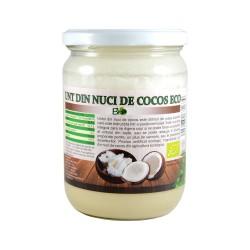 Unt de cocos, eco, bio, ecologic 450 g