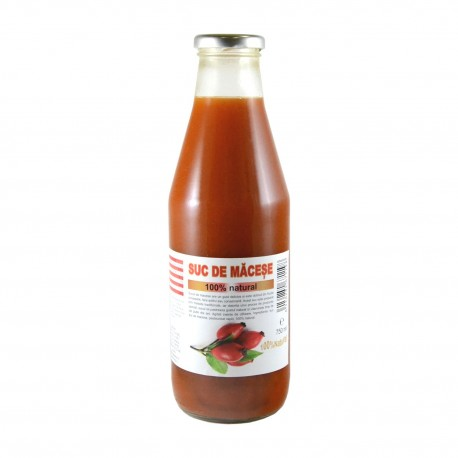 Suc de macese 100% natural 750ml