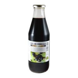Suc de coacaze negre 100%, 750ml