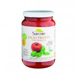 Sos de rosii cu busuioc, fara gluten, BIO 340g - Sarchio