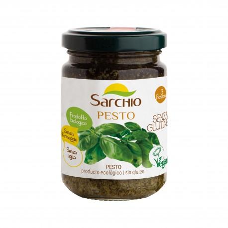 Sos pesto, fara gluten, BIO 130g - Sarchio