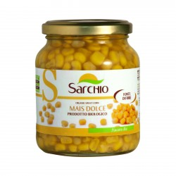 "Porumb dulce ""Mais Dolce"", bio eco organic 320 g, net 230 g - Sarchio"