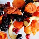 Fructe uscate, amestecuri