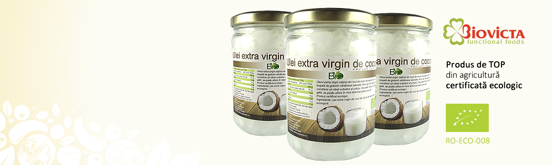 Ulei de Cocos Extra Virgin Bio - 500 ml
