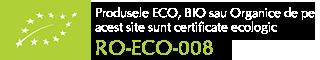 Certificare produse Bio, ecologice Biovicta RO-ECO-008